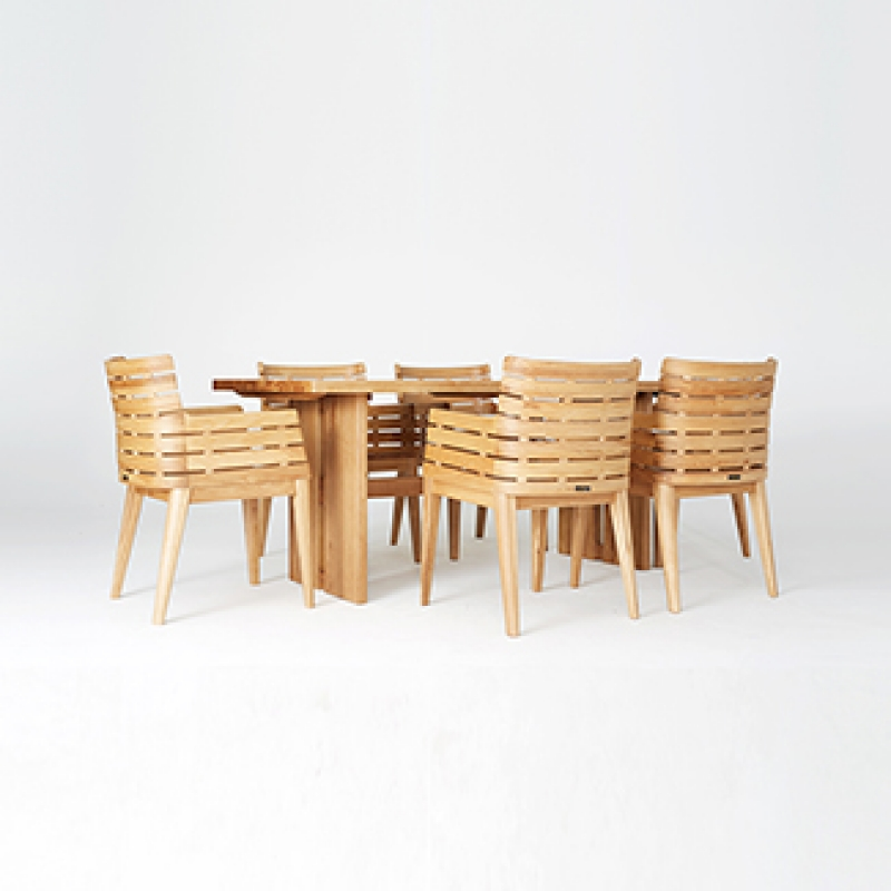 [베일리] 6인식탁 Set(6 Dining Table & 6 Chairs)