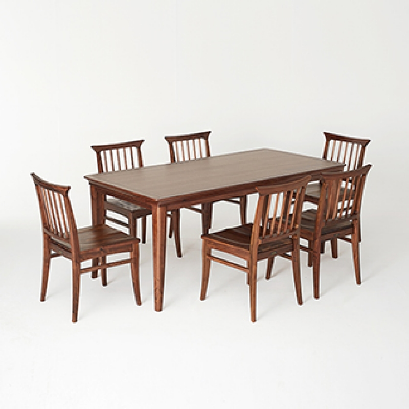 [미들랜드] 6인식탁 Set(6 Dining Table & 6 Chairs)