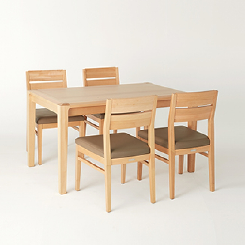 [클로에] 4인식탁 Set(4 Dining Table & 4 Chairs)